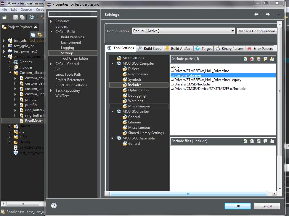 OpenSTM32 Community Site   Solved - Adding a Source Folder