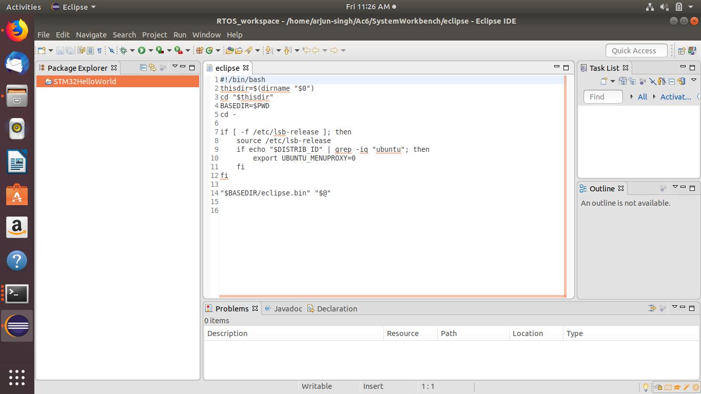OpenSTM32 Community Site | STM32 System Workbench File