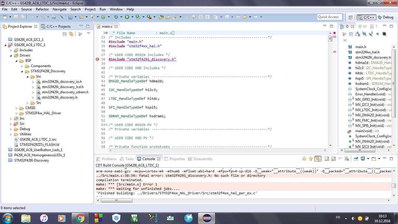 OpenSTM32 Community Site | Fatal Error : No such file or