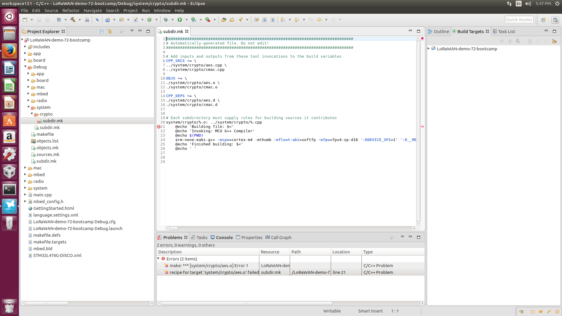 OpenSTM32 Community Site | AC6 + ST-Link V2 + SWD programming