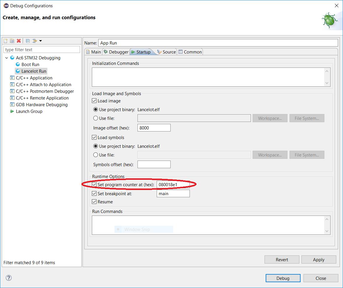 OpenSTM32 Community Site | Running bootloader + application solution
